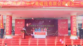 河南新乡华宇成立二十周年庆典